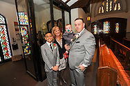 Geiger Moore wedding Saturday October 31, 2015 in Narberth, Pennsylvania.  (Photo by Bradley Bower/Cain Images)