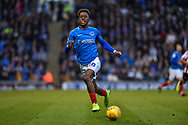 Portsmouth Midfielder, Jamal Lowe (10) during the EFL Sky Bet League 1 match between Portsmouth and Sunderland at Fratton Park, Portsmouth, England on 22 December 2018.