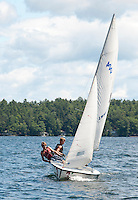 (Karen Bobotas/for the Laconia Daily Sun)Winnipesaukee Yacht Club and Lake Winnipesaukee Sailing Association out on the Lake Wednesday,  July 27, 2011.