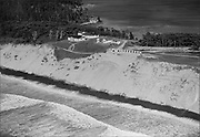 Ackroyd 01751-05. Bayocean, a city on Tillamook Bay that fell into the sea. Oregon Coast. September 13, 1949.
