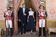 120219 Spanish Royals host a United Nations Conference on Climate Change (COP25) reception