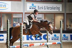 Berckvens Shelsey (BEL) - Mijoux van 't Achterhof <br /> Winnaar 6jaar D springen<br /> Finale SBB jonge ponies - Oud Heverlee 2014<br /> © Dirk Caremans