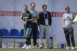 June 22, 2018 - Na - Kratovo, 06/22/2018 - The national soccer team trained this morning at the Saturn center in Russia, where they will play the final round of the football world cup. Fernando Gomes, Humberto Coelho, João Vieira Pinto and Ricardo Quaresma. (Credit Image: © Atlantico Press via ZUMA Wire)