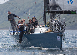Day three of the Silvers Marine Scottish Series 2016, the largest sailing event in Scotland organised by the  Clyde Cruising Club<br /> Racing on Loch Fyne from 27th-30th May 2016<br /> <br /> GBR7737R, Aurora, Rod Stuart / A Ram, CCC, Corby 37<br /> <br /> Credit : Marc Turner / CCC<br /> For further information contact<br /> Iain Hurrel<br /> Mobile : 07766 116451<br /> Email : info@marine.blast.com<br /> <br /> For a full list of Silvers Marine Scottish Series sponsors visit http://www.clyde.org/scottish-series/sponsors/