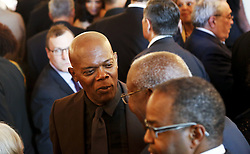Samuel Jackson beim Empfang im Weissen Haus zur Einweihung des neuen Museums für Afroamerikanische Geschichte und Kultur in Washington <br /> <br /> / 240916<br /> <br /> *** Opening ceremony of the Smithsonian National Museum of African American History and Culture on September 24, 2016 in Washington, DC ***
