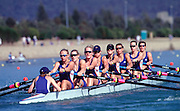 Sydney, AUSTRALIA, GBR W8+  Heats -  at the Olympic Regatta, Penrith Lakes. NSW Rowing Course: Penrith Lakes, NSW 2000 Olympic Regatta Sydney International Regatta Centre (SIRC) 2000 Olympic Rowing Regatta00085138.tif