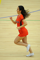 Bristol Flyers cheer leaders - Photo mandatory by-line: Dougie Allward/JMP - Mobile: 07966 386802 - 18/10/2014 - SPORT - Basketball - Bristol - SGS Wise Campus - Bristol Flyers v Durham Wildcats - British Basketball League
