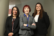 SHOT 12/4/19 11:14:07 AM - McGuane & Hogan, P.C., a Colorado family law firm located in Denver, Co. Includes attorneys Kathleen Ann Hogan, Halleh T. Omidi and Katie P. Ahles. (Photo by Marc Piscotty / © 2019)