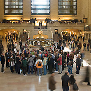 Tour Group at Grand Central Station in New York City