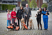 NO FEE PICTURES                                                                                                                                            9/5/19 Eoin Carroll, age 9, Shane Carroll, age 11, Natasha Eames, Fundraising and events co-ordinator DSPCA, Lord Mayor Nial Ring, Jodie Pezzilli, DSPCA and Lesley Barber, Village Vets at the launch of Ireland's favourite animal friendly event, Pets in the City, which will take place in Dublin's Smithfield Square on Sunday May 19th from 1130am to 430pm. Picture: Arthur Carron