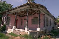 Desi Arnaz childhood home in Santiago de Cuba, Cuba.2020 from Santiago to Havana, and in between.  Santiago, Baracoa, Guantanamo, Holguin, Las Tunas, Camaguey, Santi Spiritus, Trinidad, Santa Clara, Cienfuegos, Matanzas, Havana