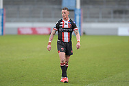 Kevin Brown (7) of Salford Red Devils in action during the game