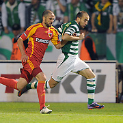 Bursaspor's Sercan YILDIRIM (R) during their Turkish soccer super league match Bursaspor between Kayserispor at Ataturk Stadium in Bursa Turkey on Saturday, 01 May 2010. Photo by TURKPIX