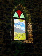 Catholic Church, Taaoa Valley, Atuona, Hiva Oa, Marquesas, French Polynesia, South Pacific