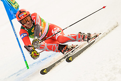 March 9, 2019 - Kranjska Gora, Kranjska Gora, Slovenia - Cristian Javier Simari Birkner of Argentina in action during Audi FIS Ski World Cup Vitranc on March 8, 2019 in Kranjska Gora, Slovenia. (Credit Image: © Rok Rakun/Pacific Press via ZUMA Wire)