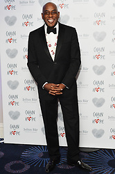 © Licensed to London News Pictures. 18/11/2016. AINSLEY HARRIOT attends the Chain Of Hope Annual Ball raising awareness and helping children with heart conditions in third world countries. London, UK. Photo credit: Ray Tang/LNP