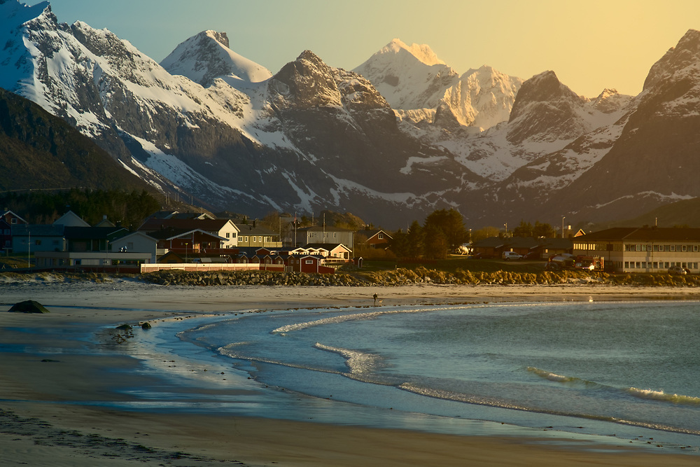 """Northern Norway in Spring makes you rethink the notion of day and night. Sun can set below the horizon for only a few hours a day; and the prolonged """"golden hour"""" provides many opportunities for capturing magical landscapes."""