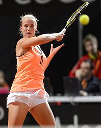 08-02-2015 NED: Fed Cup Nederland - Slowakije, Apeldoorn<br /> Richel Hogenkamp
