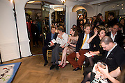 BRYAN FERRY; JEFFERSON HACK; ANOUK LEPERE,  The Launch of the Lanvin store on Mount St. Presentation and cocktails.  London. 26 March 2009