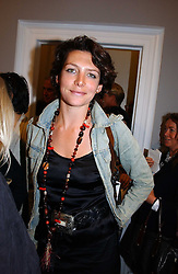 Chef THOMASINA MIERS at an exhibition of photographs by the late Robert Mapplethorpe at the Alison Jacques Gallery, 4 Clifford Street, London W1 on 7th September 2006.<br /><br />NON EXCLUSIVE - WORLD RIGHTS