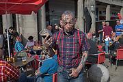 Skinhead reunion on seafront, Brighton 3 June 2017