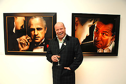 Artist PAUL KARSLAKE at an exhibition of his work entitled Ideas & Idols, held at Scream, 34 Bruton Street, London W1 on 21st February 2008.<br /><br />NON EXCLUSIVE - WORLD RIGHTS