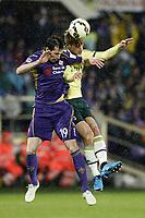 Keisuke Honda e Jose' Basanta<br /> Firenze 16/03/2015 , Football Calcio 2014/2015 Serie A, Fiorentina-Milan, foto Daniele Buffa/Image Sport/Insidefoto