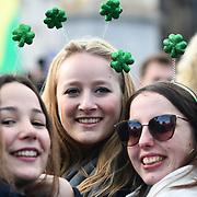 St. Patrick's Day 2019 in Trafalgar Square, London, UK