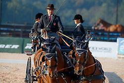 Voutaz Jerome, SUI, Belle du Peupe CH, Flore CH, Holliday, Leon<br /> World Equestrian Games - Tryon 2018<br /> © Hippo Foto - Jon Stroud<br /> 21/09/2018
