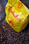 Gent, Belgium, Mar 16, 2009, Thee en koffiehuis De Mokabon, ©Christophe VANDER EECKEN
