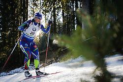 Anais Bescond (FRA) during Women 12.5 km Mass Start at day 4 of IBU Biathlon World Cup 2015/16 Pokljuka, on December 20, 2015 in Rudno polje, Pokljuka, Slovenia. Photo by Ziga Zupan / Sportida