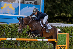 Patteet Gudrun, BEL, Sea Coast Valdelamadre Clooney<br /> Belgisch Kampioenschap Jumping  <br /> Lanaken 2020<br /> © Hippo Foto - Dirk Caremans<br /> 02/09/2020