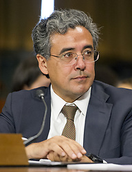 May 10, 2017 - Washington, District of Columbia, United States of America - Noel J. Francisco testifies before the United States Senate Committee on the Judiciary on his nomination to be Solicitor General of the US on Capitol Hill in Washington, DC on Wednesday, May 10, 2017..Credit: Ron Sachs / CNP (Credit Image: © Ron Sachs/CNP via ZUMA Wire)