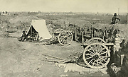 In Possession of the Goal from the book ' The Civil war through the camera ' hundreds of vivid photographs actually taken in Civil war times, sixteen reproductions in color of famous war paintings. The new text history by Henry W. Elson. A. complete illustrated history of the Civil war