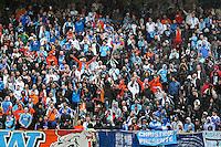 Supporters Marseille - 01.05.2015 - Metz / Marseille - 35e journee Ligue 1<br /> Photo : Fred Marvaux / Icon Sport