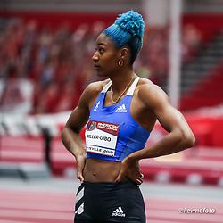 American Track League<br /> ESPN Indoor #2 track and field meet<br /> Shaunae Miller-Uibo, Bahamas, adidas,