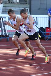 Andreas Bube, Denmark, in the 800m. Folksam Grand Prix Göteborg, Slottskogsvallen, 14. juni 2014.