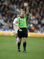 Photo: Rich Eaton.<br /> <br /> Wolverhampton Wanderers v Leeds United. Coca Cola Championship. 24/02/2007. referee Michael Jones