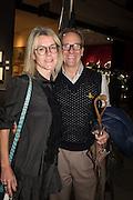 SUZANNE TROCME; MICHAEL JANKOWSKI, The preview of LAPADA Art and Antiques Fair. Berkeley Sq. London. 21 September 2015.