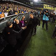 Fenerbahce's coach Ismail Kartal (C) during their Turkish superleague soccer derby Fenerbahce between Galatasaray at the Sukru Saracaoglu stadium in Istanbul Turkey on Sunday 08 March 2015. Photo by Kurtulus YILMAZ/TURKPIX
