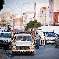Kairouan, Tunisia 27 October 2011<br /> Street scene in the Medina of Kairouan.<br /> Photo: Ezequiel Scagnetti