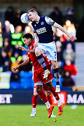 Korey Smith of Bristol City is challenged by Jed Wallace of Millwall - Rogan/JMP - 29/02/2020 - The Den - London, England - Millwall v Bristol City - Sky Bet Championship.