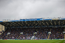 Portsmouth v Rotherham United as the plays unfolds in front of the Fratton End - Mandatory by-line: Jason Brown/JMP - 03/09/2017 - FOOTBALL - Fratton Park - Portsmouth, England - Portsmouth v Rotherham United - Sky Bet League Two