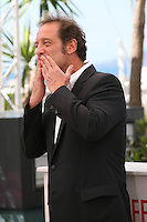 Actor Vincent Lindon at Les Salauds film photocall Cannes Film Festival on Wednesday 22nd May 2013