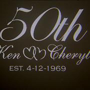 Ken & Cheryl 50th