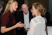 KATHERINE KINGSLEY; RICHARD WILSON,  Party following the Theatre Royal press night performance of The Lion in Winter , The Institute of Directors. London. 15 November 2011. <br /> <br />  , -DO NOT ARCHIVE-© Copyright Photograph by Dafydd Jones. 248 Clapham Rd. London SW9 0PZ. Tel 0207 820 0771. www.dafjones.com.