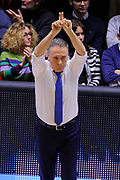 DESCRIZIONE : Brindisi  Lega A 2015-16<br /> Enel Brindisi - Betaland Capo d'Orlando<br /> GIOCATORE : Piero Bucchi<br /> CATEGORIA : Allenatore Coach<br /> SQUADRA : Enel Brindisi<br /> EVENTO : Campionato Lega A 2015-2016<br /> GARA :Enel Brindisi - Betaland Capo d'Orlando<br /> DATA : 26/03/2016<br /> SPORT : Pallacanestro<br /> AUTORE : Agenzia Ciamillo-Castoria/D.Matera<br /> Galleria : Lega Basket A 2015-2016<br /> Fotonotizia : Brindisi  Lega A 2015-16 Enel Brindisi - Betaland Capo d'Orlando<br /> Predefinita :