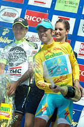 10.07.2011, AUT, 63. OESTERREICH RUNDFAHRT, 8. ETAPPE, PODERSDORF-WIEN, im Bild Fredrik Kessiakoff, (SWE, Pro Team Astana) // during the 63rd Tour of Austria, Stage 8, 2011/07/10, EXPA Pictures © 2011, PhotoCredit: EXPA/ S. Zangrando