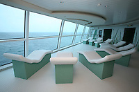 Celebrity Eclipse interior photos..The Spa, The Persian Garden