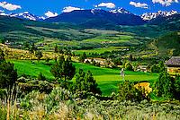 The Valley Course, The Club at Cordillera, Edwards, Colorado USA